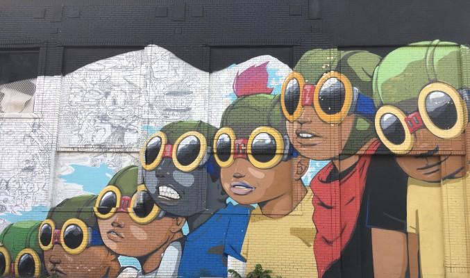 Detroit streetart photo