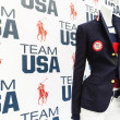 Ralph Lauren USA Olympic outfits at George R. Brown