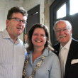 Houston Parks Board event, 7/16, Michael Skelly, Doreen Stoller, Shafik Rifaat