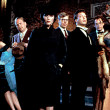 Cast from the film Clue with Tim Curry