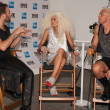 The Blonds designers at American Express VIP Lounge