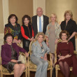 Assistance League luncheon, Seated: Nancy Reynolds, Joan Lyons, Jeanie Kilroy Wilson Standing: Rose Cullen, Linda McReynolds, Truett Latimer, Ann Bookout, Jan Carson