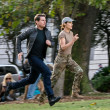 Tom Cruise and Cobie Smulders in Jack Reacher: Never Go Back