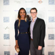 Alecia Harris, Steven Rogers at Houston Cinema Arts Festival opening night