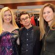 Jane Wagner, Christian Siriano, Jill Roth at Elizabeth Anthony