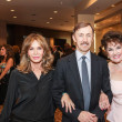 Jaclyn Smith, from left, Dr. Brad Allen and Warner Roberts at the Mission of Yahweh Gala May 2014