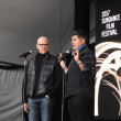 John Heilemann and Showtime executive Vinnie Malhotra
