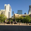 View from Dallas City Hall toward downtown