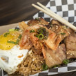 Wokker pork belly fried rice