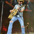 Jason Aldean at Houston rodeo concert March 2014