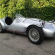 vintage sports racing car Tazio Nuvolari's 1950 Race Cistalia Abarth 204a