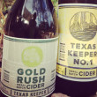 Texas Keeper Cider_Austin_Gold Rush Small Batch Cide_Texas Keeper No. 1_2015