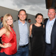 Mellisa Williams, Matt Murphy, Tina Mata, Mark Latham at Barbara Bush Foundation gala kickoff