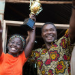 Madina Nalwanga and David Oyelowo in Queen of Katwe