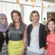 Ellevate Network breakfast 6/16 Adeela Nasser, Jennifer Duhon, Sallie Krawcheck, Mathilde Leary