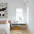 Houzz Austin home house modern Texas farmhouse bedroom