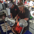 Houston Barbecue Festival Feges BBQ Erin Smith steamship round