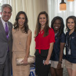 Houston, DePelchin Children's Center Families for Kids Luncheon, May 2016, Don Faust, Hannah McNair, Jessica Shannon, Jasmine Butler, Erica Martinez