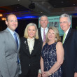 KIPP Houston dinner 4/16, A.J. Brass, Katie Brass, Andrew Martire, Jenny Moore, Tom Moore