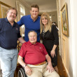 John Watt, Connie Watt, J.J. Watt, George H.W. Bush