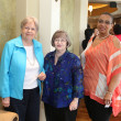 Partners Luncheon 4/16, undefinedKathy McGovern, Julia Mitchell and Sheila Lewis