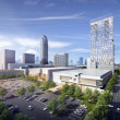 Rendering of new Galleria hotel and apartment high rise