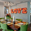Houzz Texas style marquee sign decor