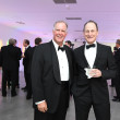 Jeff Hepper, Michael Gamson at Men of Menil dinner