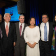 Center for Houston's Future luncheon, March 2016, Astley Blair, Michael Jhin, StanMarek, Preeti Verma, Umesh Verma, Y. Ping Sun