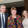 Center for Houston's Future luncheon, March 2016,  Owen Ralston, Beverly Kaufman, Julie Baker Finck