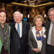 Center for Houston's Future luncheon, March 2016, Karen Otazo Hofmeister, Eugene Vaughan, Susan Vaughan, Stephen Klineberg
