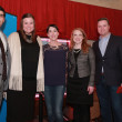 Mac Flores, Lindsay Taylor Munoz, Heather Ramsey-Cook, Holli Strong Davies, Taylor Landin at Mayor's Rodeo Kickoff breakfast