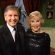 Ernie Manouse, Joanne Herring King at Manor of Speaking Downtown Abbey last episode