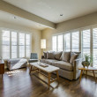 Dallas, home for sale, 936 peavy road, living room