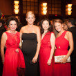 Heart Ball, Feb. 2016, Kathy Goossen, Courtney Solleveld, Jenny Phan, Cara Morgan