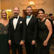 Junior League Gala, Feb. 2016, Amy Dunn, Kevin Black, Tony Bradfield, Mary Margaret Foerester