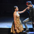 Kerry Warren and Jake Horowitz in Dallas Theater Center's Romeo and Juliet