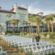 Hotel Galvez Centennial Green wedding