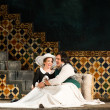 HGO Marriage of Figaro, Jan. 2016. Heidi Stober, Susanna; Adam Plachekta, Figaro;