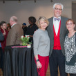 News, DiverseWorks MATCH party, Dec. 2015 Bridget Wade, Jim D'Imperio, Sandy D'Imperio