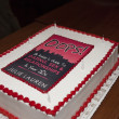 Houston, Oops 20s party, November 2015, cake from Three Bros Bakery