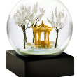 Pagoda snow globe at the Lotus Shop