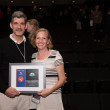 Stephen Hillerbrand and Mary Magsamen winners of CineSpace at Houston Cinema Arts Festival