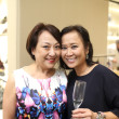 Tod's grand opening Connie Lai, Emily Hang