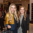 Sage Clement and Claire Davis at Heart of Fashion kickoff party