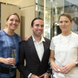 Tod's grand opening Amy Purvis, Bradley Houston, Kimball Tyson