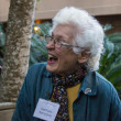 Gertrude Barnstone at Texas Civil Rights Project fundraiser