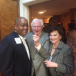 Rodney Ellis, Mark White, Linda Gayle White at Texas Civil Rights Project fundraiser