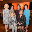 Assistance League Luncheon 2015 Top Row; Ann Bookout, Linda McReynolds, Jeanie Kilroy Wilson, Nancy Reynolds Bottom Row; Joan Lyons, Jan Carson