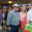News, Shelby, Alex Martinez Back to School event, Aug. 2015, David Arpin, Lily Paxon-Salinas, Enrique Salinas